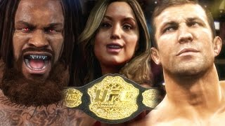 EA SPORTS UFC 2 Career Mode Gameplay - MIDDLEWEIGHT TITLE FIGHT 🏆 Bridges vs Rockhold thumbnail