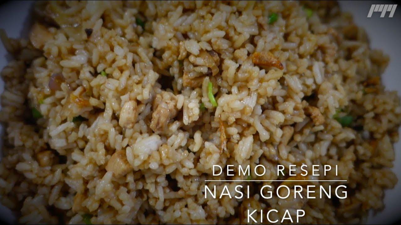 Demo Resepi Nasi Goreng Kicap Mudah dan Sedap - YouTube