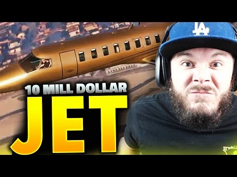 GTA 5 Online - 10 MILLION DOLLAR JET!! HOOKERS WILL NEVER SAY NO | Part 3 (GTA 5 ONLINE)