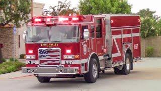 Chino Valley Fire Dist. Medic Engine 61 & Medic Engine 67