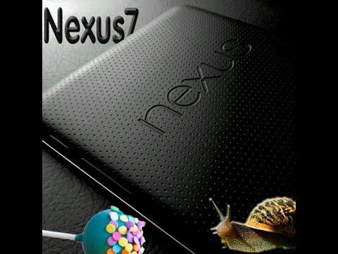 Nexus 7 lento dopo l