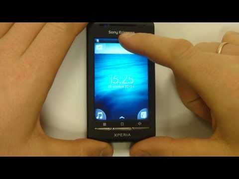 XPERIA X8 на Android 2.1 (Eclair)