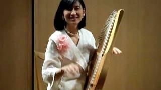 ピアノを超シンプルにして行ったらこんな竪琴が復活できました *古典ギ...