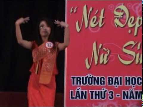 Video Hội thi nét đẹp nữ sinh Đại học Vinh năm 2010 phần 2.2