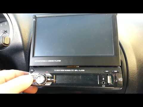 "radio MP5 tft 7"" ZEEPIN 9601G not working"