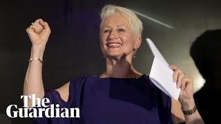 Independent Kerryn Phelps wins Wentworth byelection: 'We have made history'