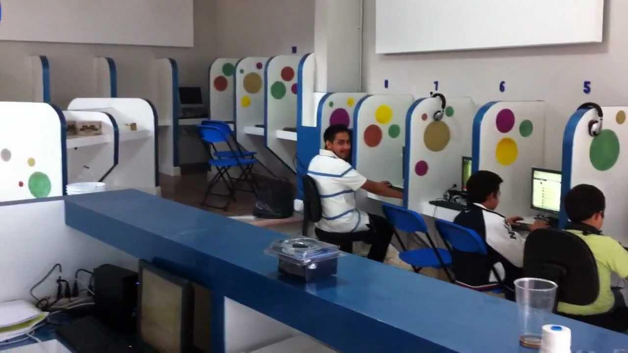 10 Terminales Ncomputing ciber cafe en Mexico  YouTube