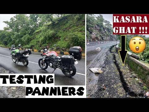 We Got Lost After a Landslide | Cracked Kasara Ghat Highway || A Ride to Test Panniers