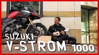 Essai hors-la-loi : voyager gratos en Suzuki V-Strom 1000 (English Subtitles)