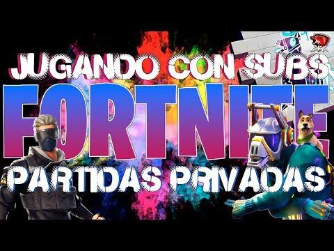 🔴 PARTIDAS PRIVADAS #5 🔴 DIRECTO #FORTNITE JUGANDO CON SUBS   DarkNovaBlaze