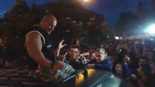 Hardkorowy Koksu (Robert Burneika)  na GUMBALL 3000 Warszawa 2017 Video