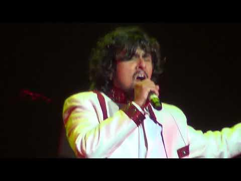 Aaj Purani Rahon Se - Sonu Nigam Live Performance