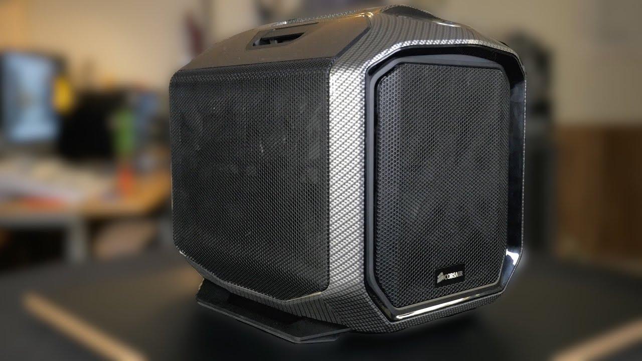 Carbon Fiber Edition Corsair 380t Custom Pc Build Youtube