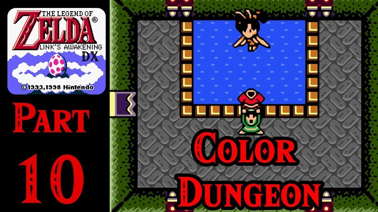 Zelda Links Awakening Dx 100 Walkthrough Part 10 Color Dungeon