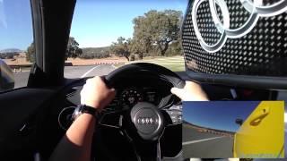 2016 Audi TT Virtual Cockpit test drive at Marbella Spain Ascari Race Resort