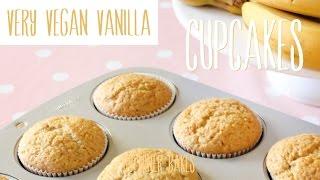 Very Vegan Vanilla Cupcakes Tutorial {no Eggs, No Milk}
