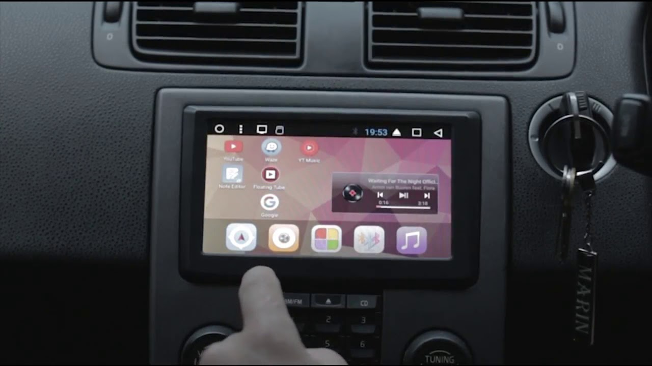BLP-990A Volvo S40, V50, C70 and C30 Android Headunit
