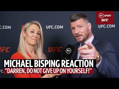 """""""Darren, Do Not Give Up On Yourself!"""" 👊 Michael Bisping Post-Fight Reaction On Till, Paddy Pimblett"""