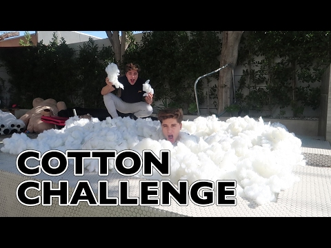Thumbnail: BATH COTTON CHALLENGE IN POOL