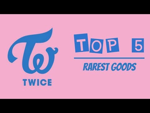 TOP 5 Rarest TWICE Goods In My Collection