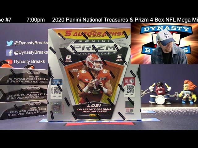 2021 Prizm Draft Picks Football 4 Box Quarter Case Break #4   Sports Cards