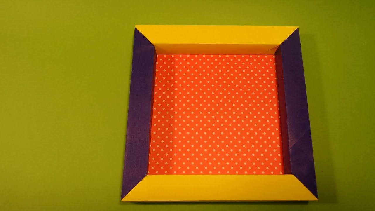 사진 액자 색종이 접기 - Origami Confetti Picture Frames by MAY story - photo#12