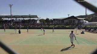 2018 全日本ソフトテニス選手権男子5回戦② thumbnail