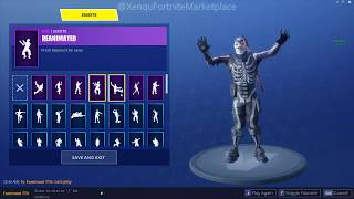 *SUPER RARE* FORTNITE ACCOUNT FOR SALE ( SKULL TROOPER / BLACK NIGHT & MORE! )