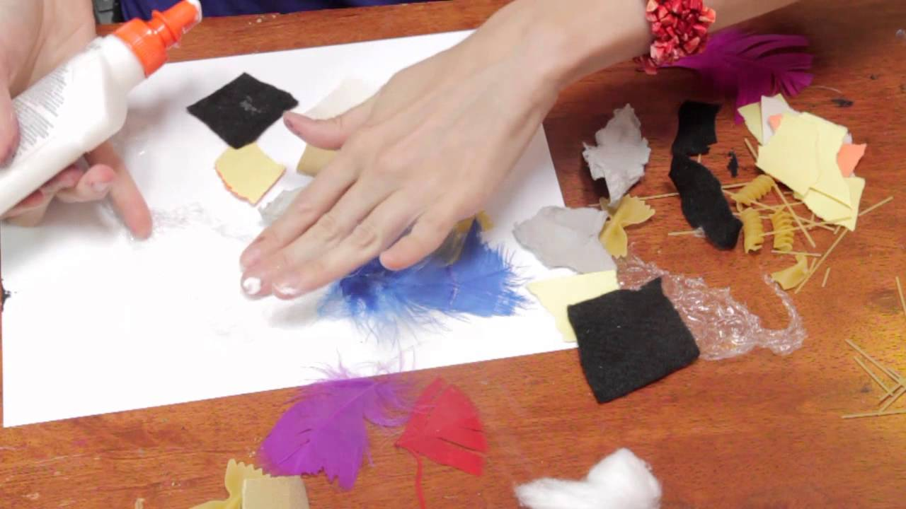 Touch Feel Preschool Crafts Fun Crafts For Kids Youtube