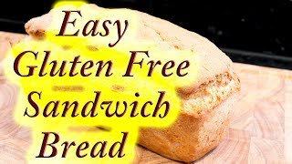 Gluten free sandwich loaf, made easy at home