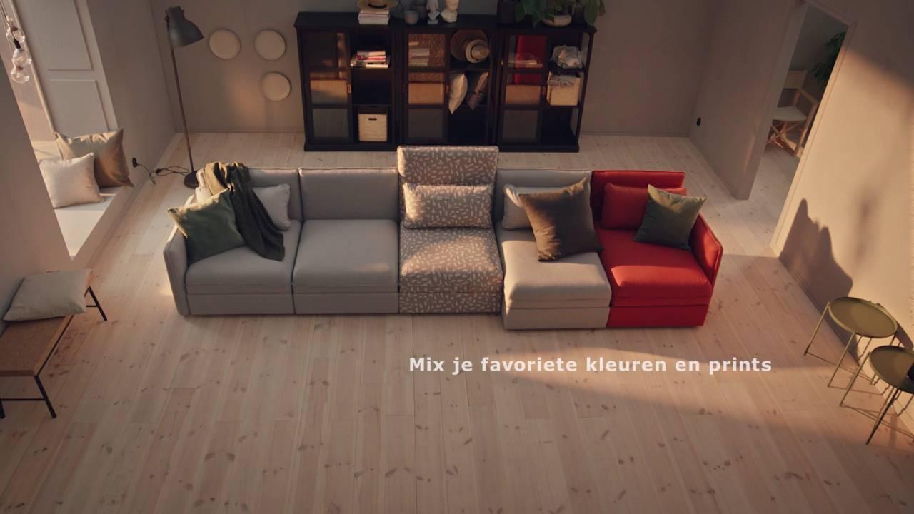 IKEA  De modulaire VALLENTUNA bank  YouTube