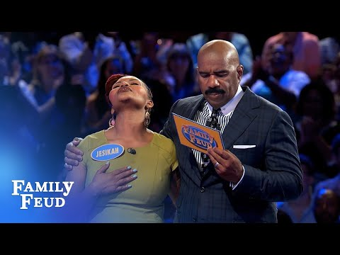 Porters under pressure! | Family Feud