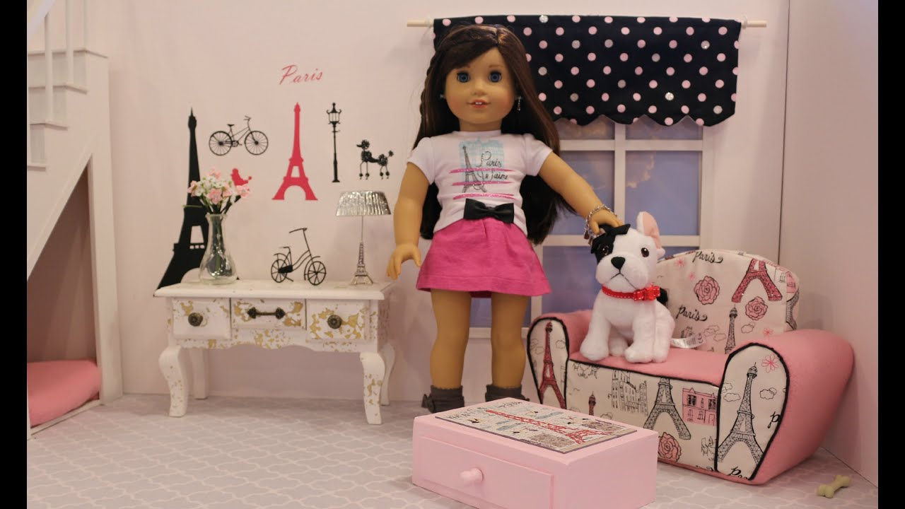 American Girl Doll Grace Thomas Living Room   GOTY 2015   AGSM   YouTube