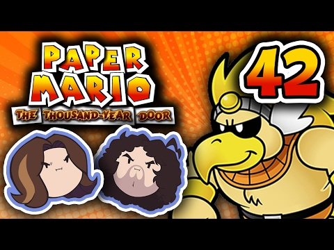 Paper Mario TTYD: Rawk Hawk Is The Champ - PART 42 - Game Grumps