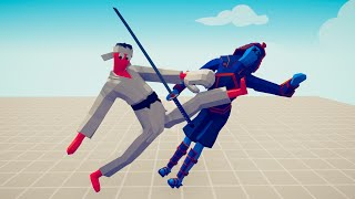 KICKBOXER FIGHT 1vs1 ALL UNITS WITH HEALTHBAR 🔥 TABS - Totally Accurate Battle Simulator