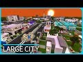 Minecraft PE Maps - Large Modern UKS City with Download - MCPE 1.1 / 1.1.5 / 1.0