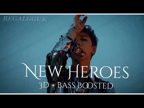 [ 3D + BASS BOOSTED ] TEN [ 텐 ] - New Heroes