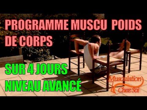 Vote no on programme gratuit de musculation prise - Se muscler chez soi sans materiel ...