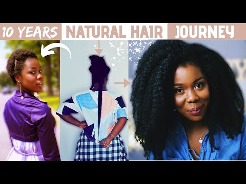MY 10 YEARS NATURAL HAIR JOURNEY | GROWING MY HAIR TO TAILBONE LENGTH | + 2021 GOAL | Obaa Yaa Jones