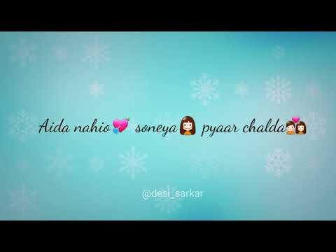 Nikki Nikki Gal   Punjabi Status