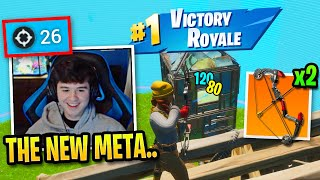 Bugha DESTROYS with NEW Meta in Season 2! (Fortnite)