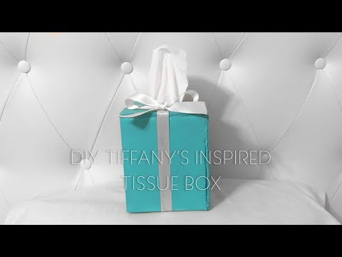 || DIY Tiffany's Inspired Tissue Box ||