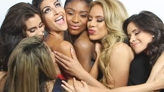 "Fifth Harmony Love Fest- Dinah Brings Camila Cabello to Tears at LATINA ""Hot List"" Party!"