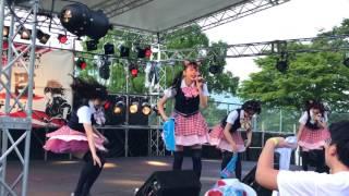2017.7.22 関ヶ原唄姫合戦 豊臣ステージのわーすたです。オープニング→...