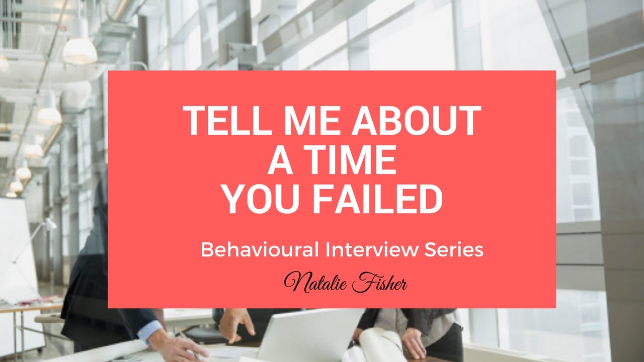 Behavioural Interview Question