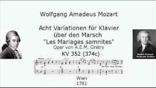 W. A. Mozart  Acht Variationen für Klavier