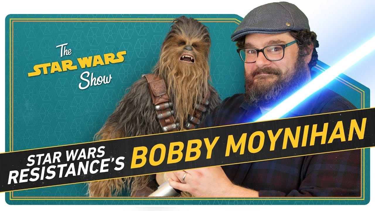 Star Wars Resistance's Bobby Moynihan Discusses SNL, Matt, Radar  Technician, and Star Wars Fandom