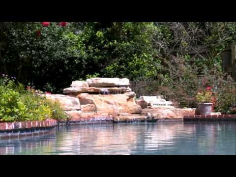 Rico Rock Tennessee Ledger Swimming Pool Waterfall Kit with Optional Stream Section