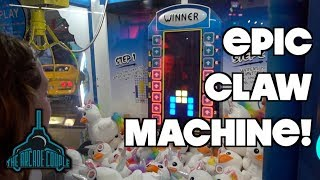 You've Never Seen A Claw Machine Like This!