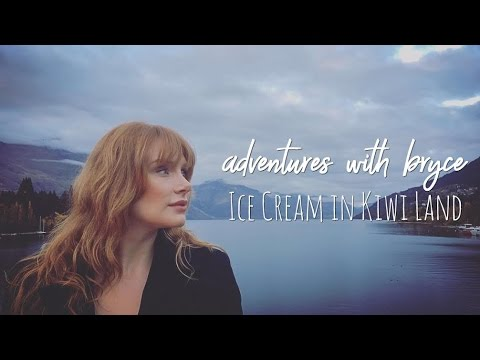 Adventures with bryce dallas howard: Ice Cream in Kiwi Land